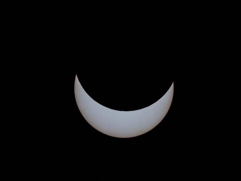 Partielle Sonnenfinsternis vom 20.03.2015 um 1024 Uhr